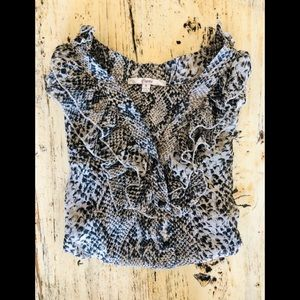 🌟2 for $10!!! Anthropologie leopard print top